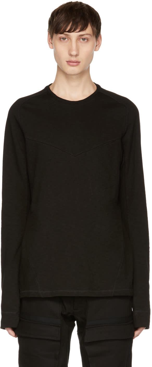 Image of Abasi Rosborough Black Origin Knit Sweater