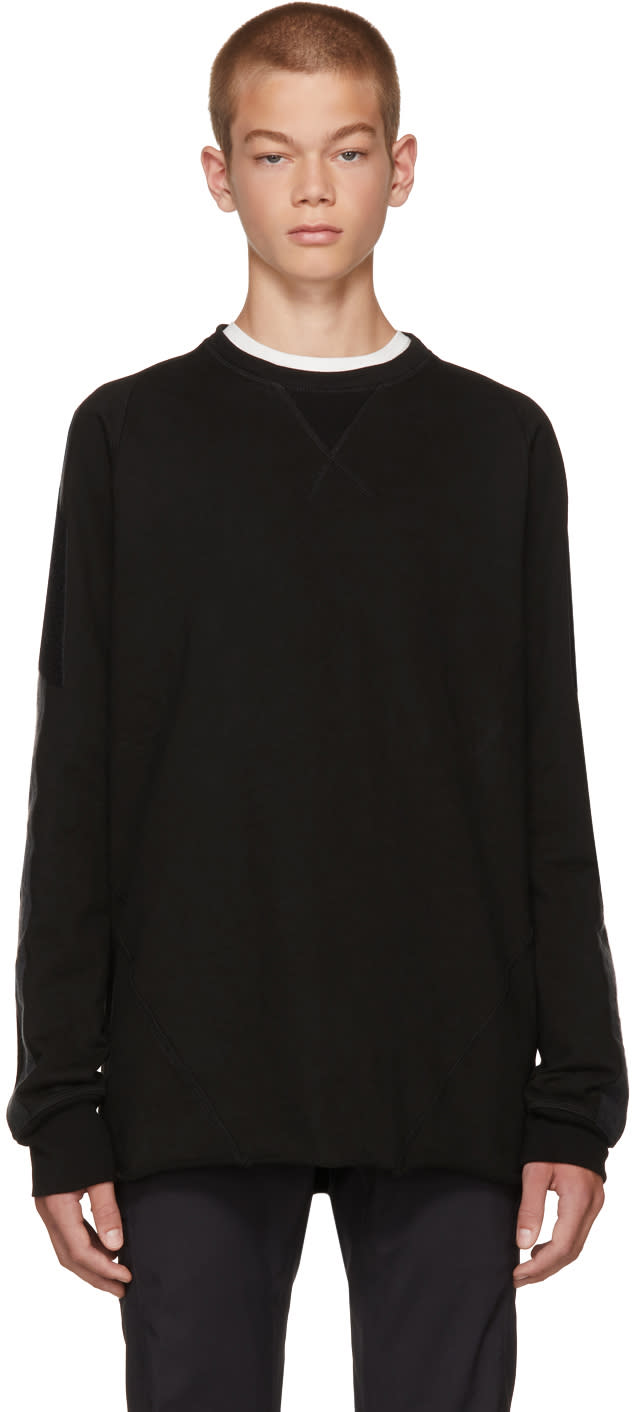 Image of Abasi Rosborough Black Bdu Sweatshirt