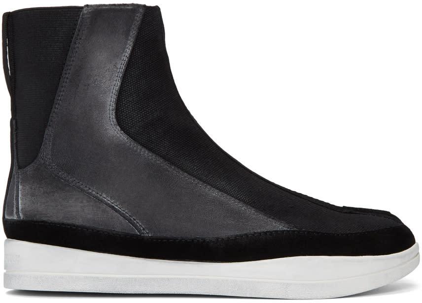 Image of Abasi Rosborough Black Limited Edition Apollo Tabi Boots
