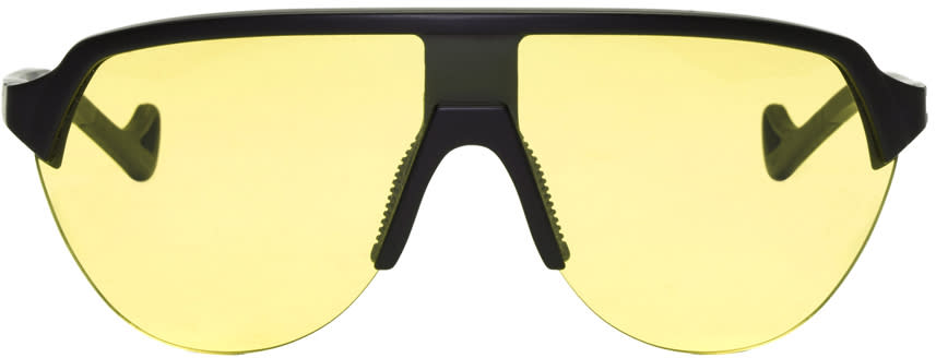 Image of District Vision Black and Yellow Nagata Sunglasses