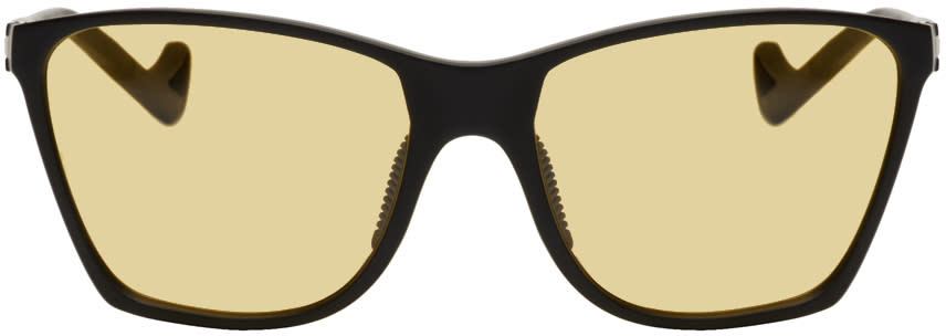 Image of District Vision Black and Yellow Keiichi Sunglasses