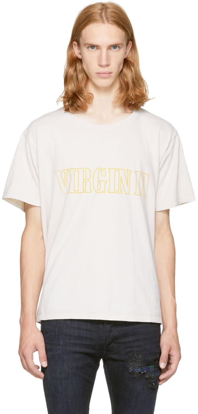 Image of Rhude Off-white virginia T-shirt