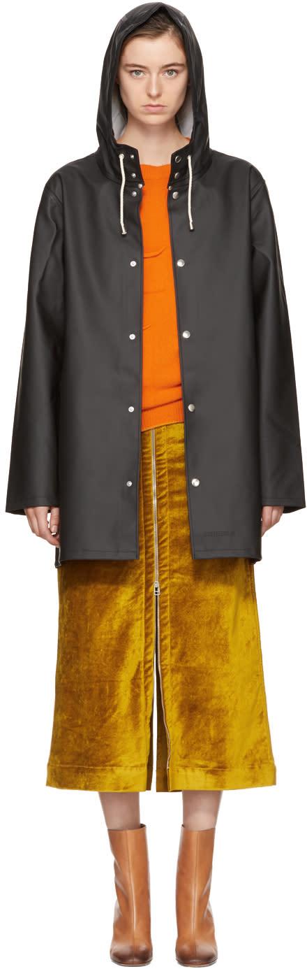 Image of Stutterheim Black Stockholm Raincoat