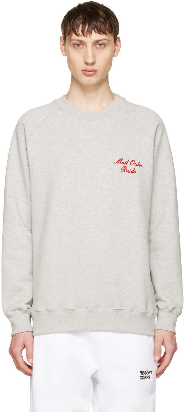 Resort Corps Grey mail Order Bride Sweatshirt