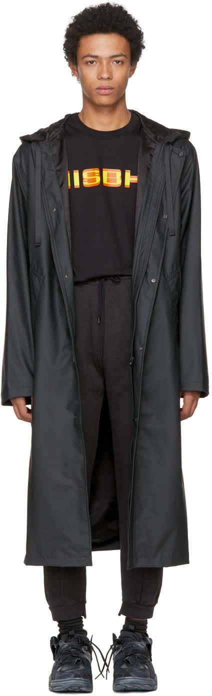 Image of Misbhv Black Tribal 95 Kubo Raincoat