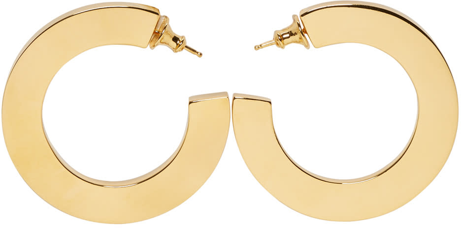 Image of Sophie Buhai Gold Classic Hoop Earrings