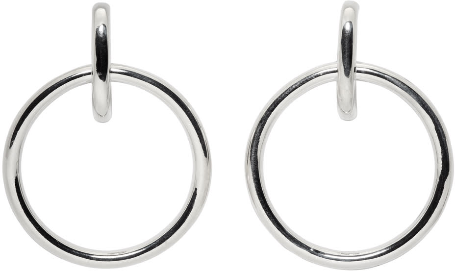 Image of Sophie Buhai Silver Isabel Hoop Earrings