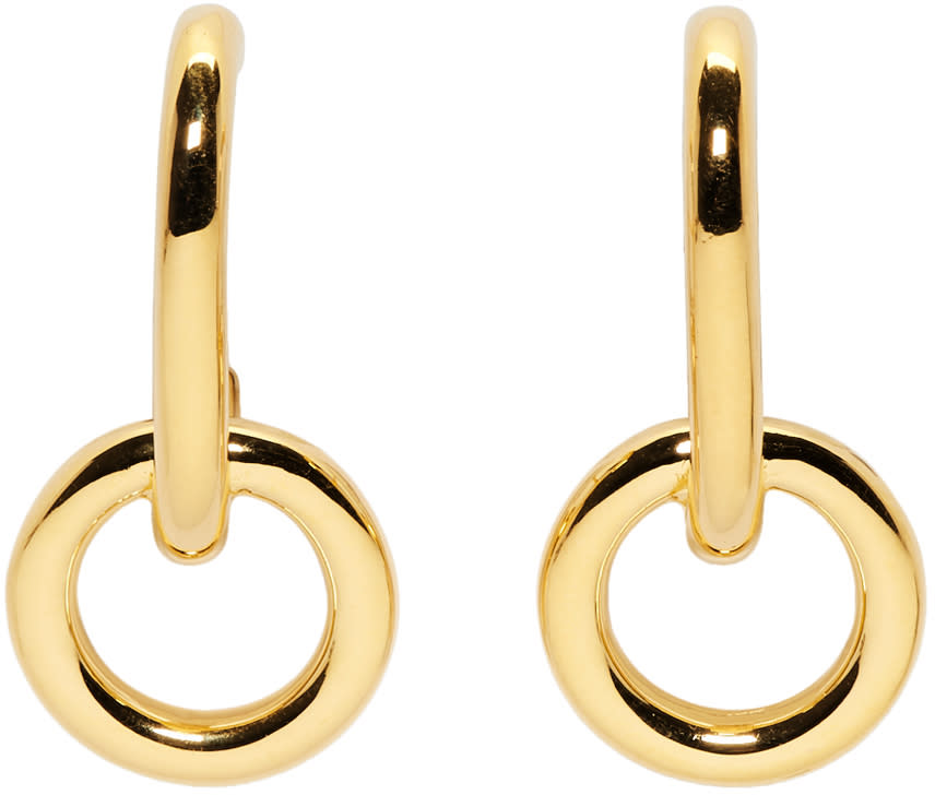 Image of Sophie Buhai Gold Lobe Earrings