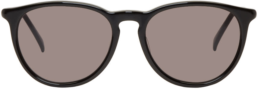 Image of Nonnative Black Kaneko Optical Edition Stranger Sunglasses