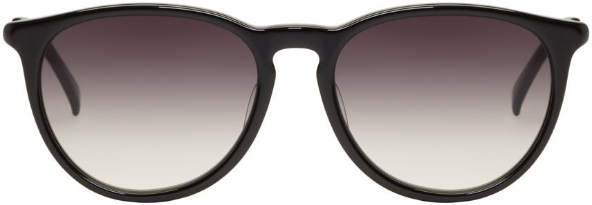Image of Nonnative Black Kaneko Optical Edition Gradient Stranger Sunglasses