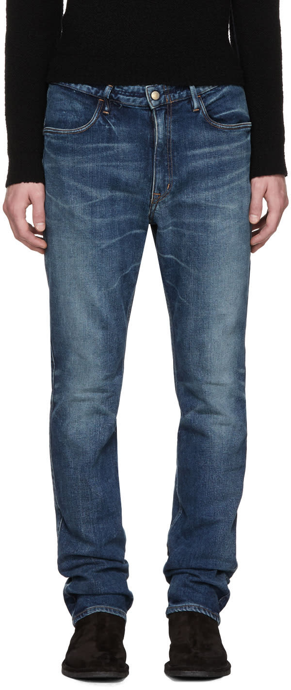 Image of Nonnative Indigo Tapered Dweller Jeans