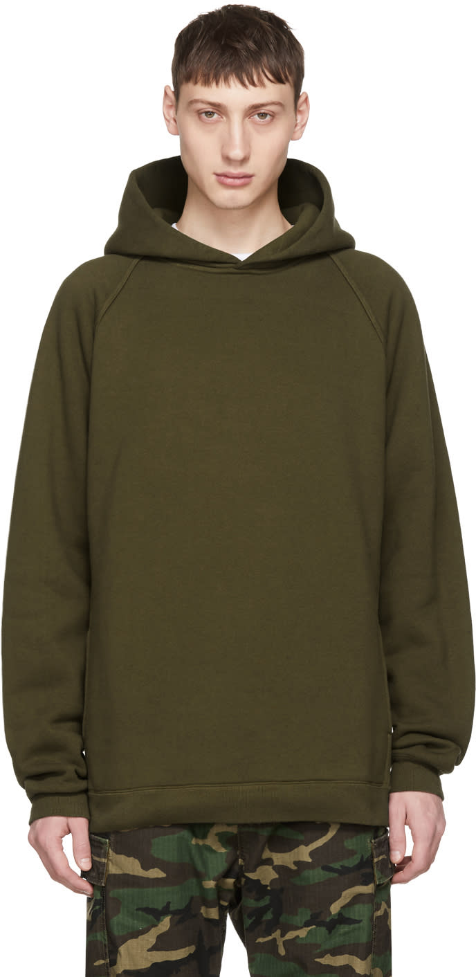 Image of Nonnative Green Coach Hoodie