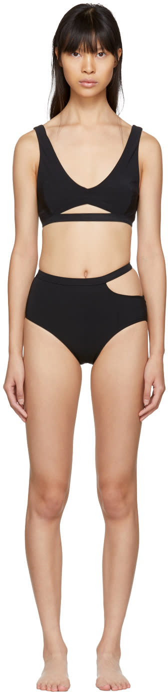 Image of Marieyat Black Ryym Sade Bikini
