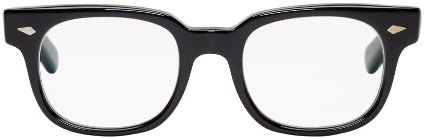 Image of Wacko Maria Black Buddy Glasses