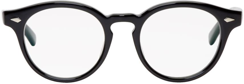 Image of Wacko Maria Black Lennon Glasses
