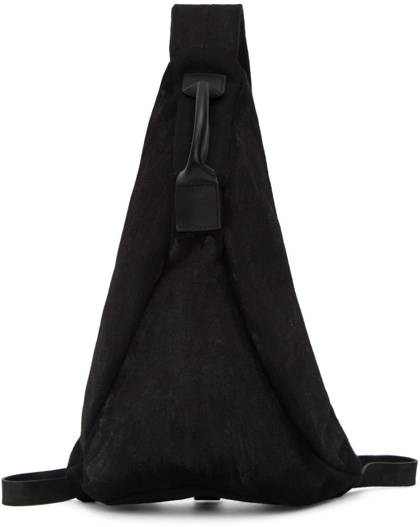 Image of The Viridi-anne Black Single Strap Backpack