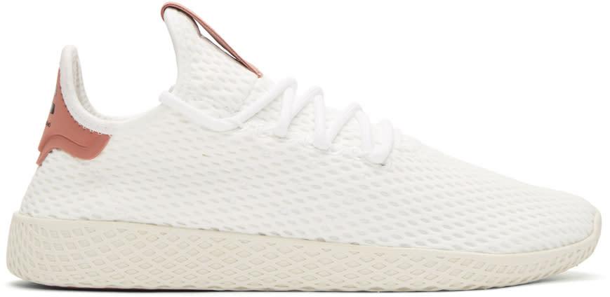 Adidas Originals X Pharrell Williams ホワイト and ピンク Pw テニス Hu スニーカー