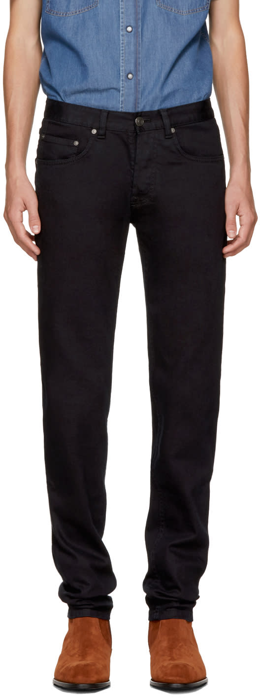 Image of Brioni Black Slim Jeans