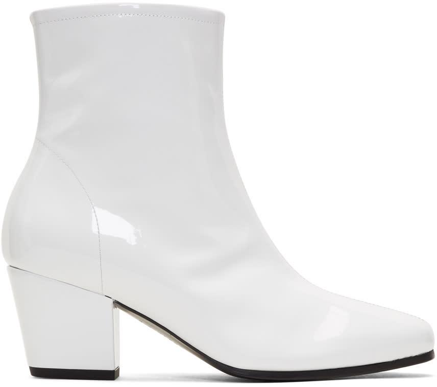 Alexachung White Beatnik Boots
