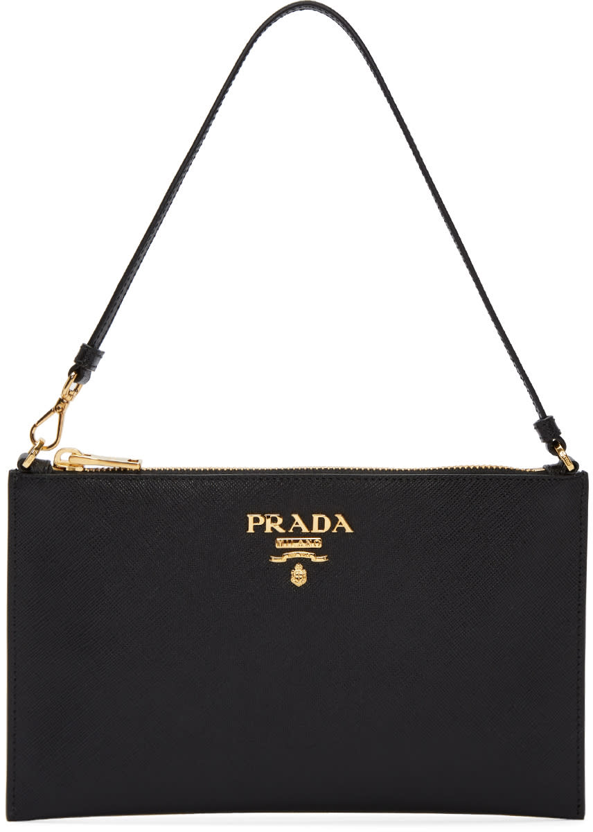 fd2511153cde Prada Black Pouch Bag
