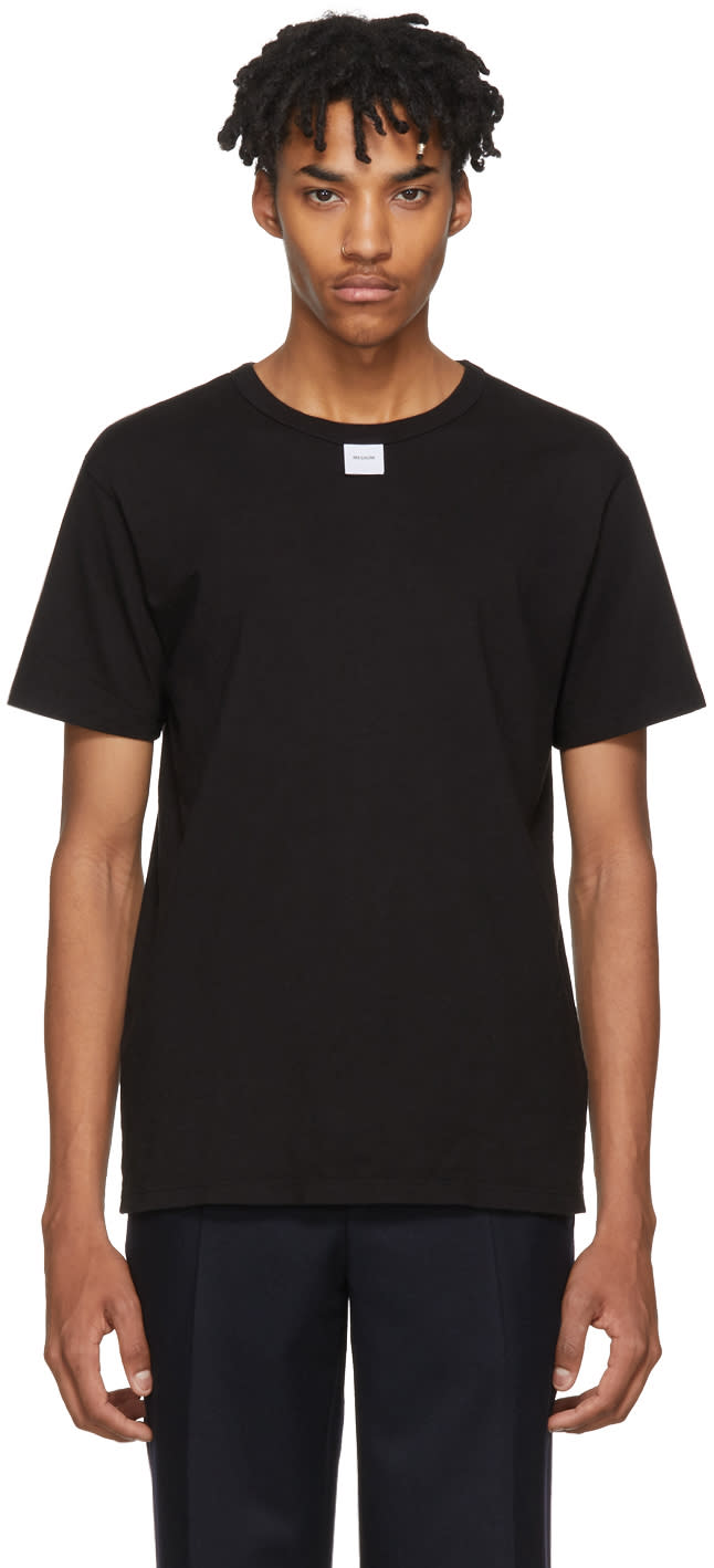 Image of Bianca Chandon Black Size Label T-shirt