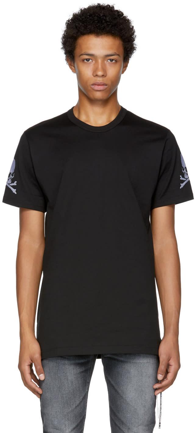 Image of Mastermind World Black Skull Logo T-shirt