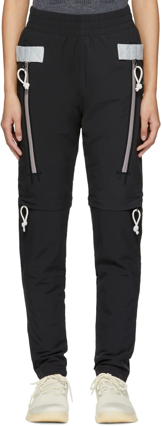 Image of Adidas Day One Black Drop Tapered Wind Lounge Pants