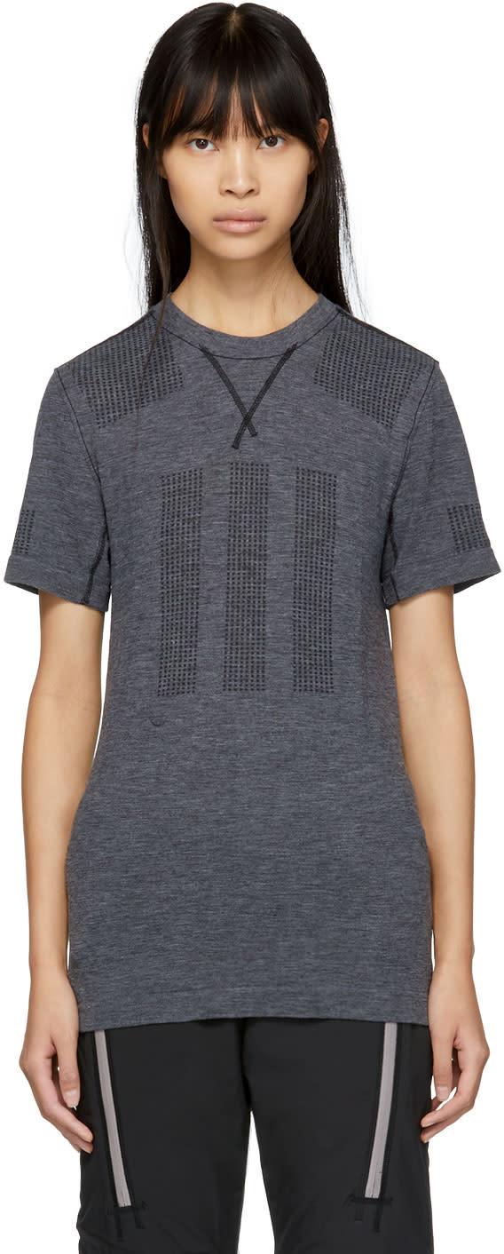 Image of Adidas Day One Grey Primeknit Base Layer T-shirt