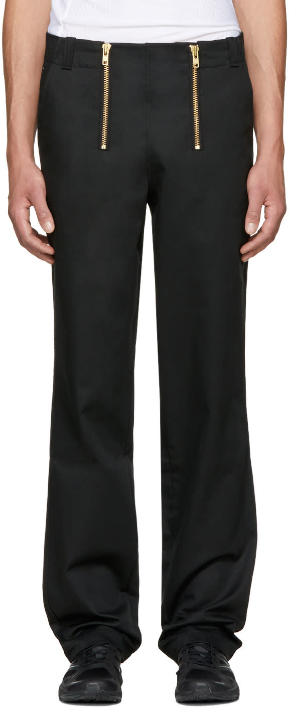 Image of Gmbh Black Zimmerman Carpenter Trousers