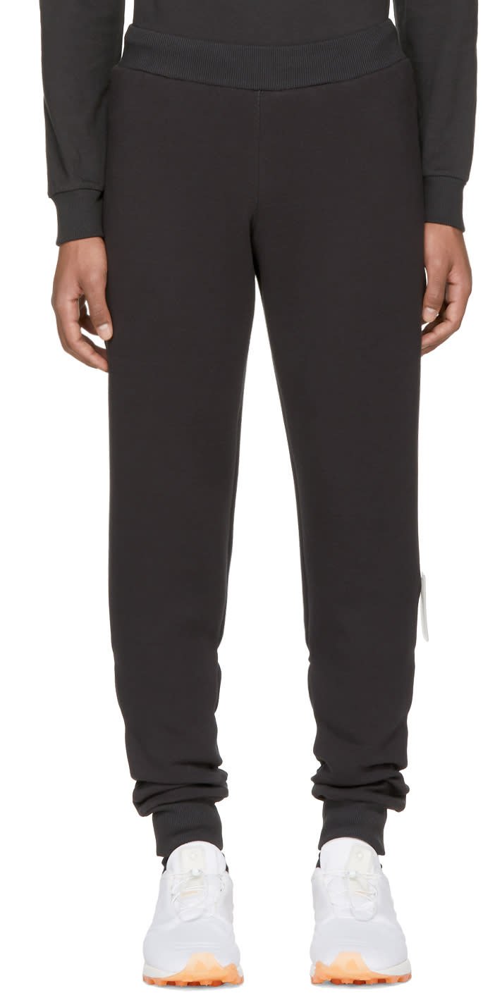 Image of Reebok × Cottweiler Black Jogger Lounge Pants