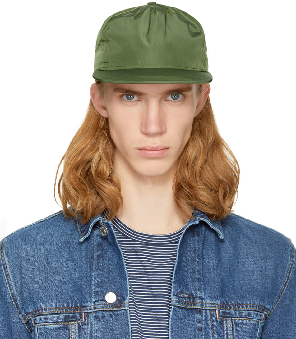 Image of Paa Green Pleat Cap