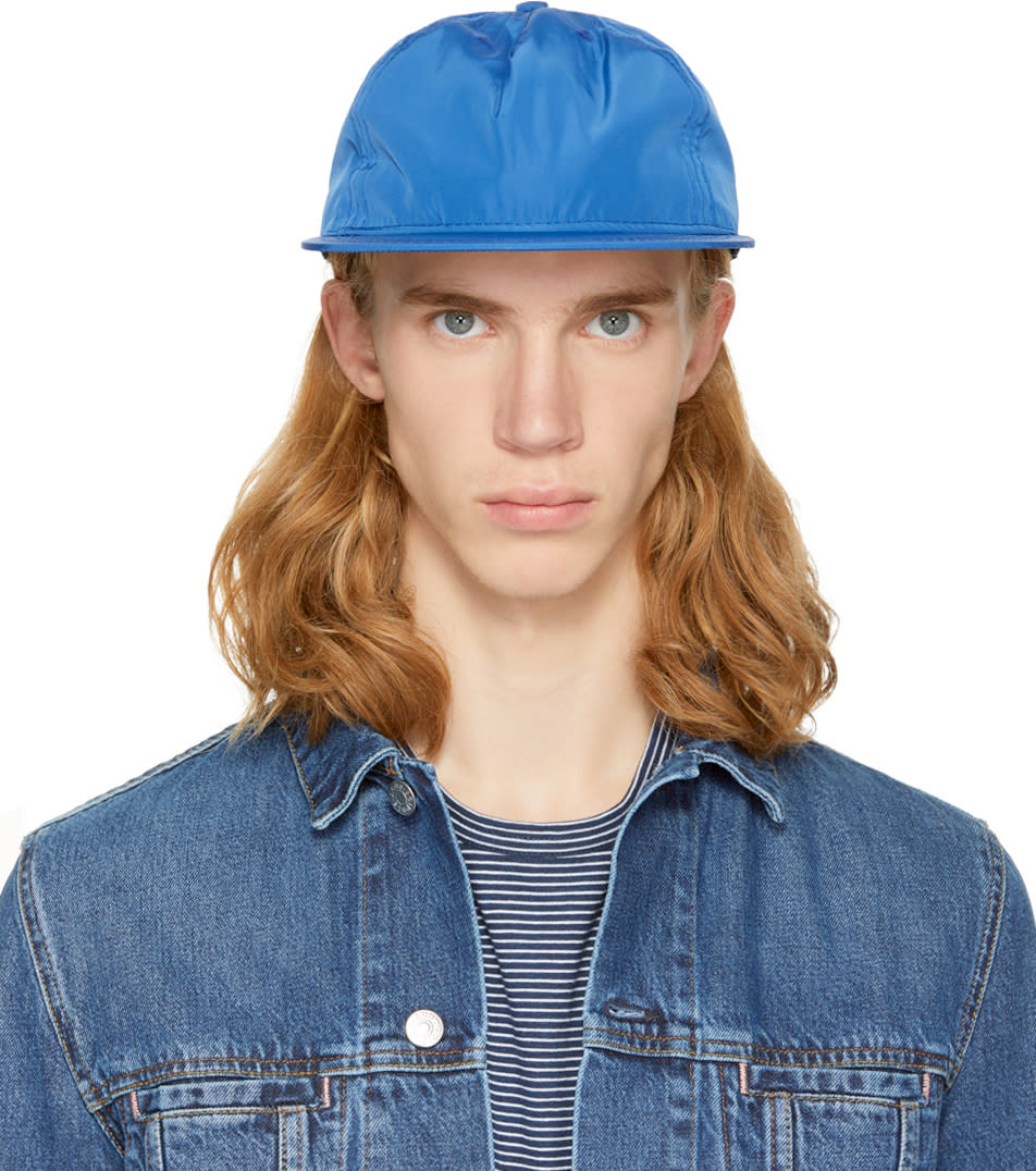 Image of Paa Blue Pleat Cap
