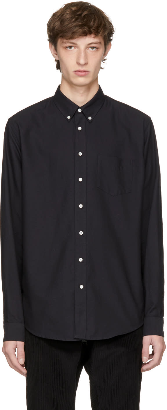 Image of Schnayderman's Black Oxford One Shirt