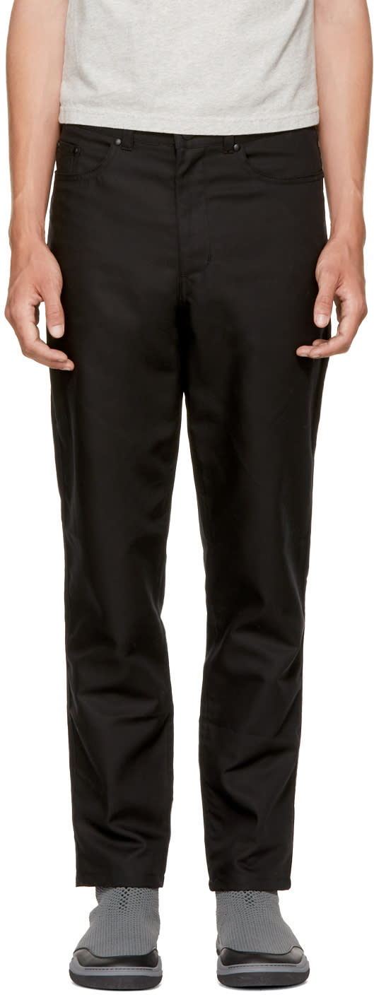 Image of Landlord Black Mac Trousers