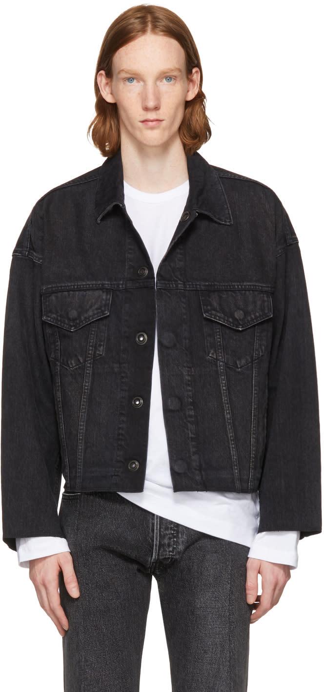 Image of N.hoolywood Black Denim Jacket