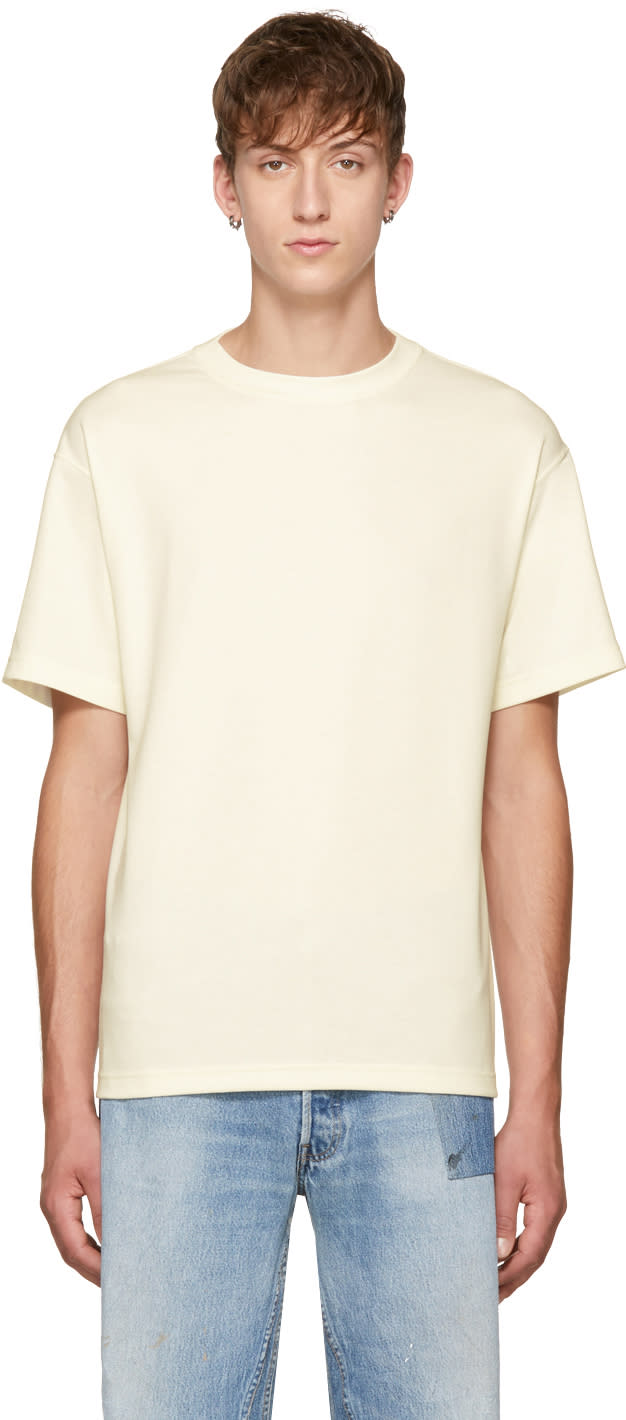 Image of N.hoolywood Off-white Classic T-shirt