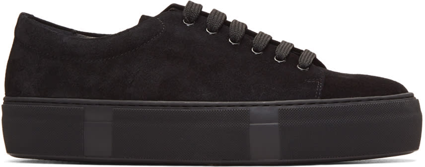 Hope Black Suede Sid Sneakers