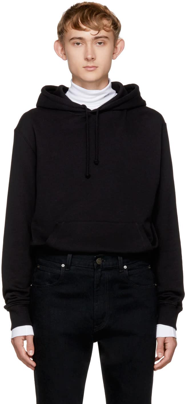 Image of Calvin Klein 205w39nyc Black Brooke Hoodie