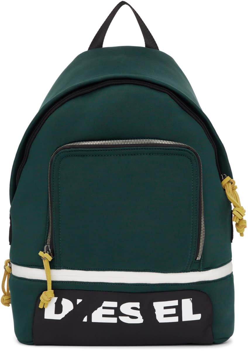 5f3c665122 Diesel Green F-scuba Backpack