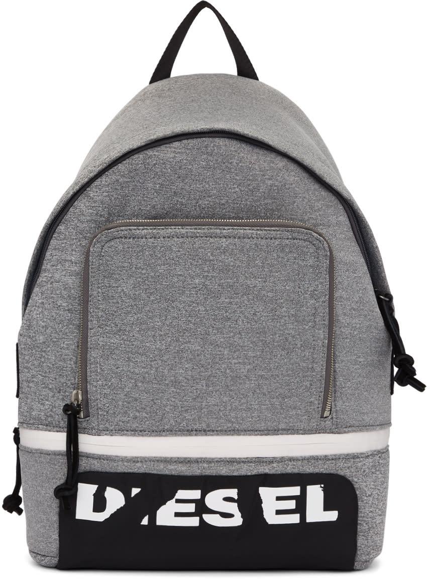 87b21e0cea Diesel Grey F-scuba Backpack