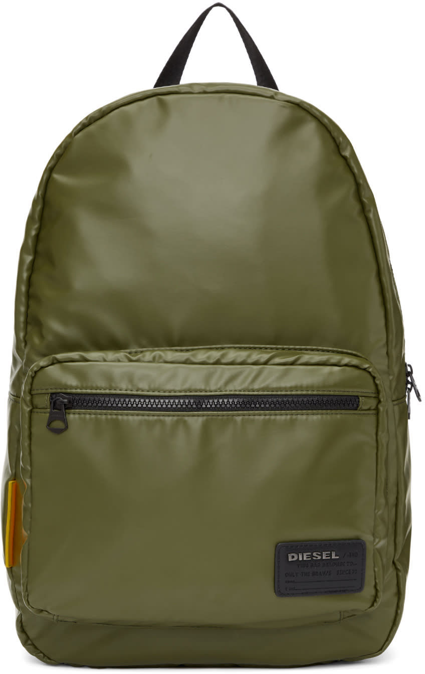 76169b3d427f Diesel Green F discover Backpack