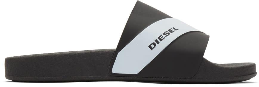 Diesel Black S-maral Slides