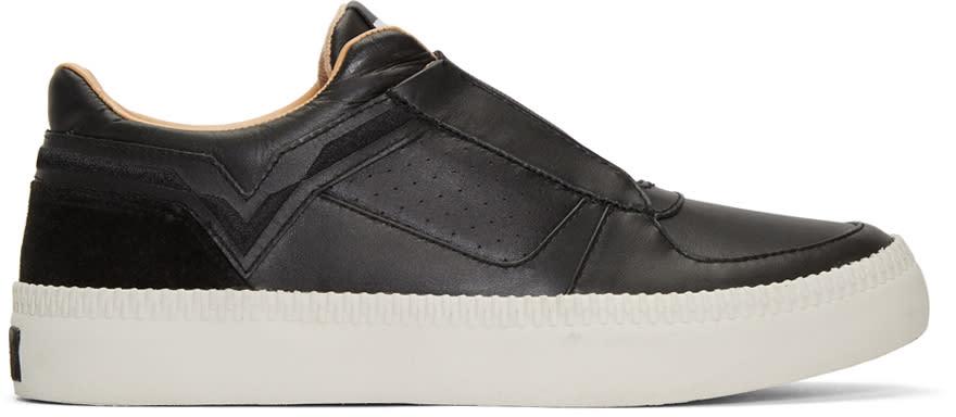 Diesel Black S-spaark Slip-on Sneakers