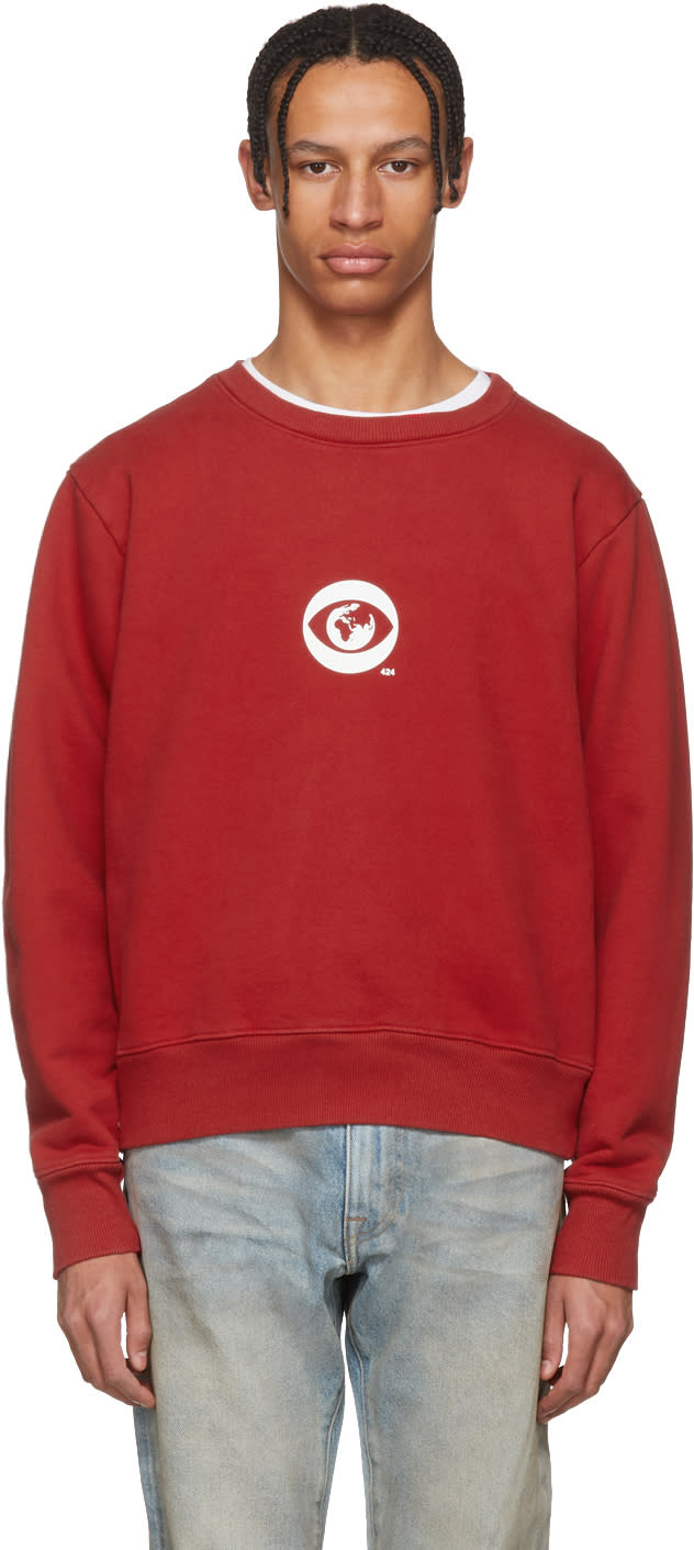 424 male 424 red big brother sweatshirt