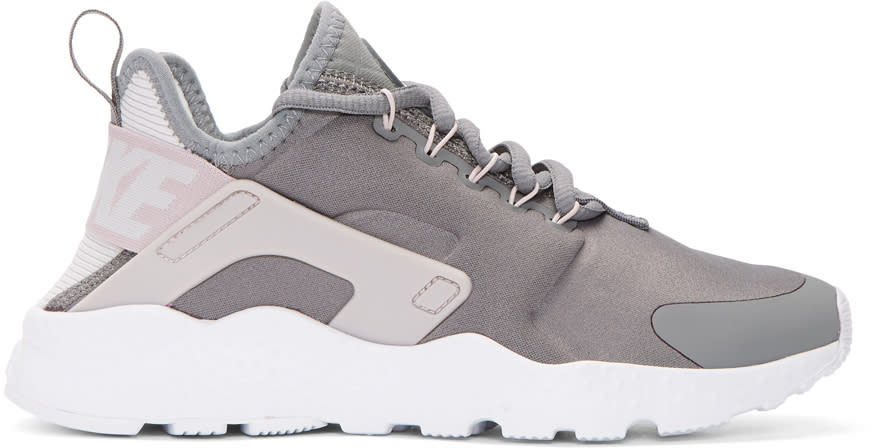 acdfb184ed52 Nike Grey Air Huarache Run Ultra Sneakers