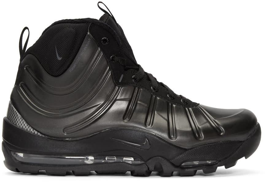 Image of Nike Black Air Bakin Posite Sneakers