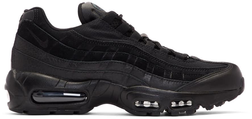 78f1dc47642b Nike Black Air Max 95 Premium Sneakers