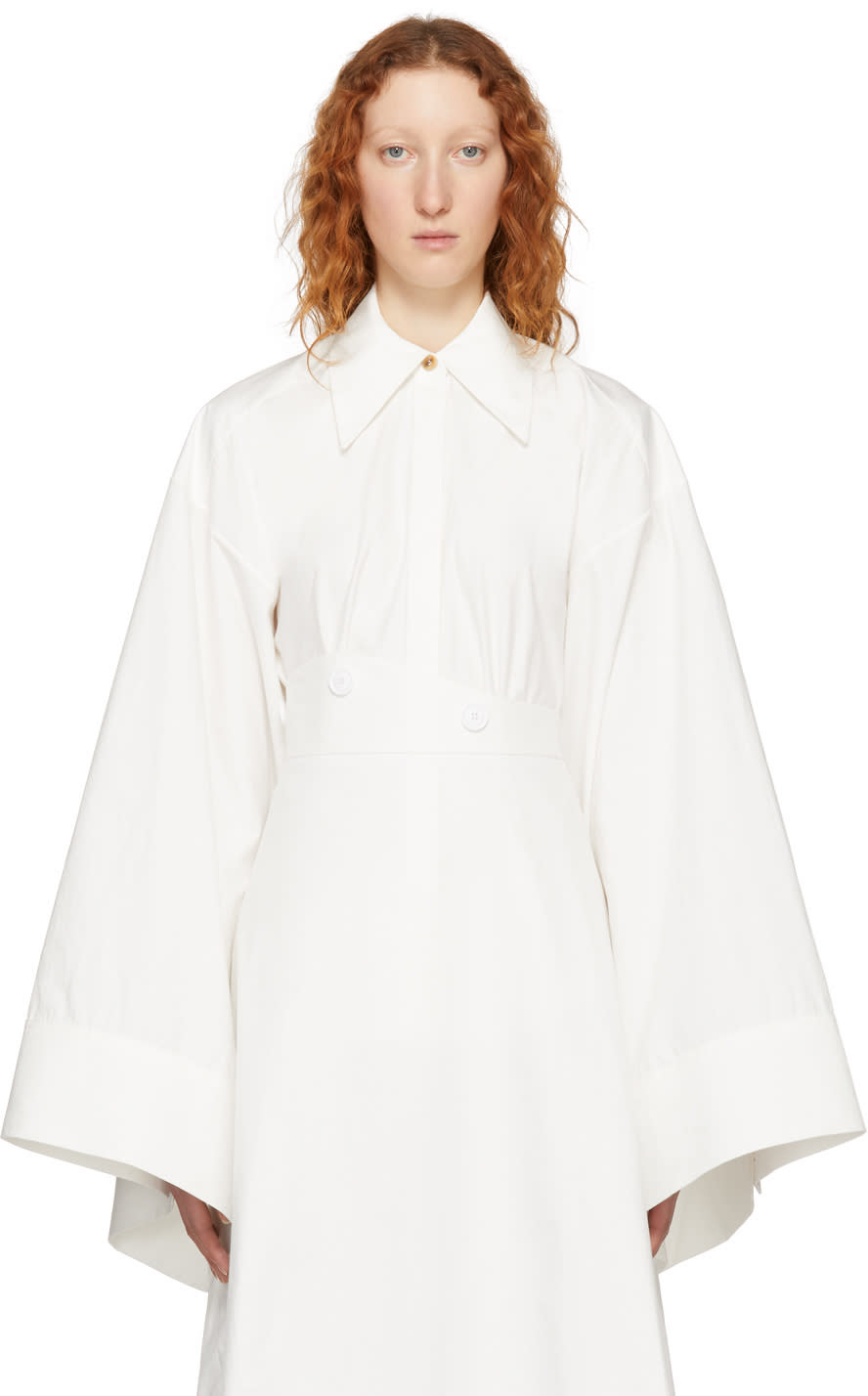 A.w.a.k.e. Chemise Blanche Kimono Sleeve