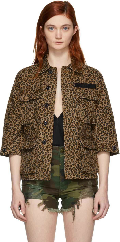 dd264fd9ab07c R13 Brown Leopard Shrunken Abu Jacket