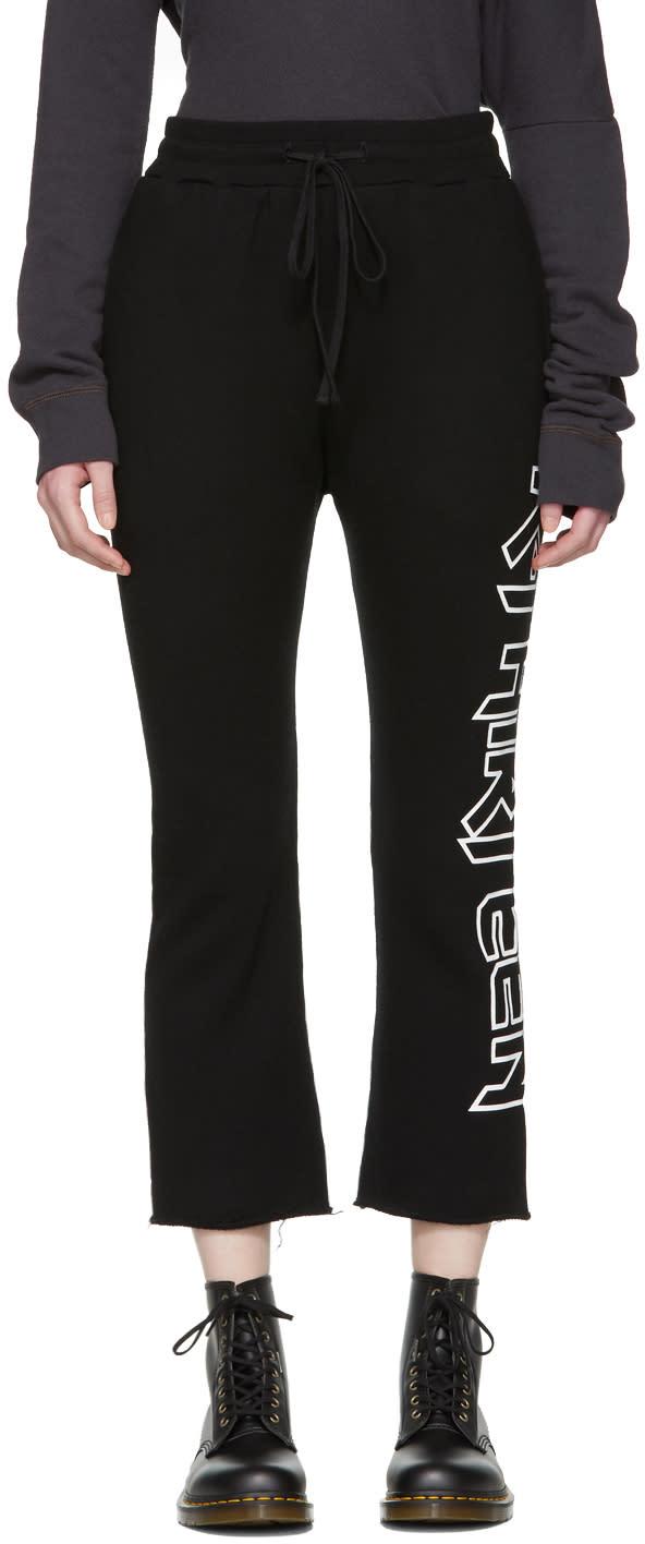 R13 Pantalon De Survêtement Noir r-thirteen